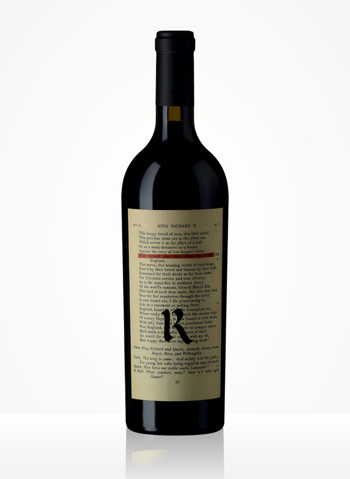 Cabernet Sauvignon, The Bard, 