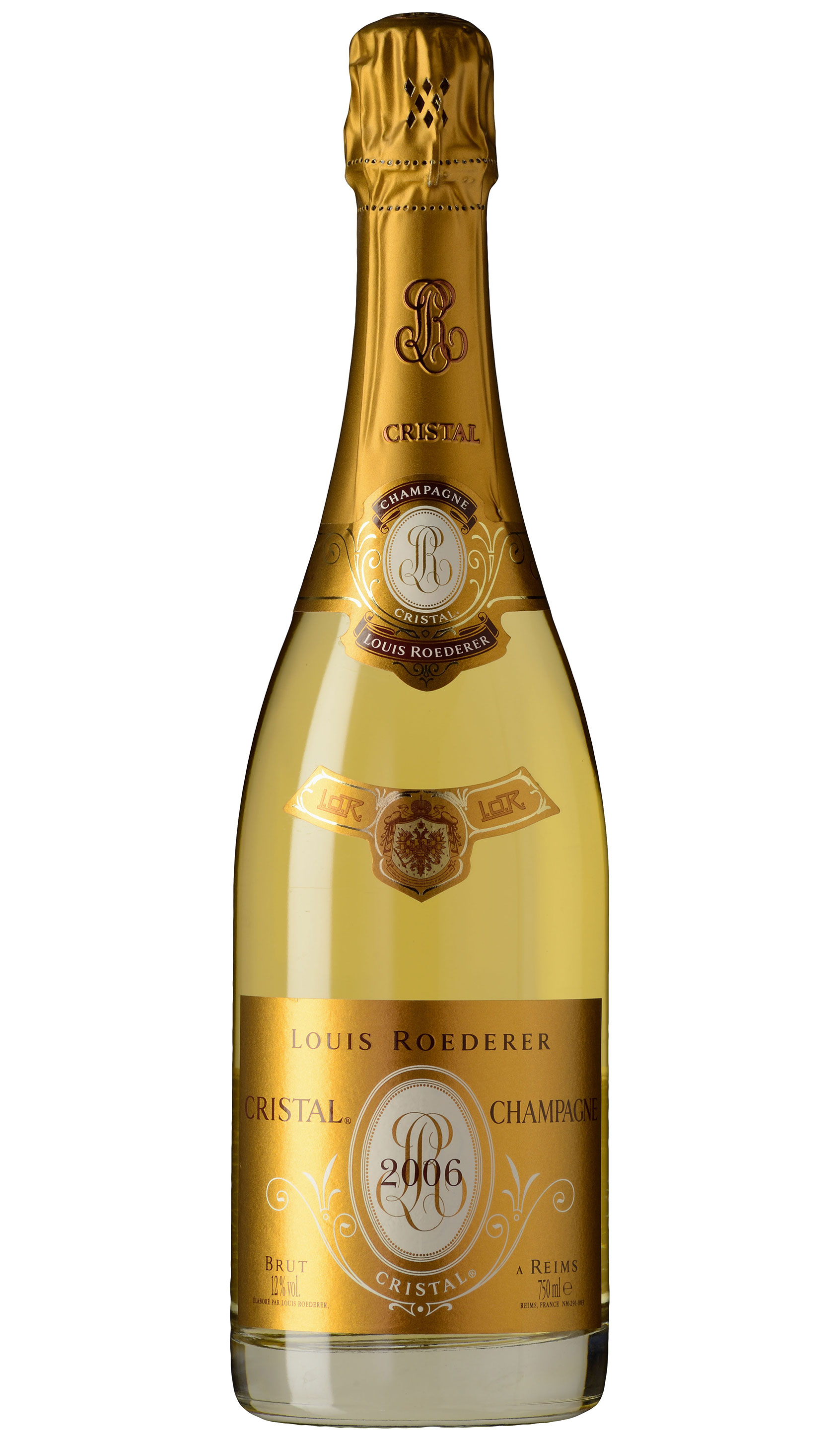 Champagne Cristal, Louis Roederer  2012