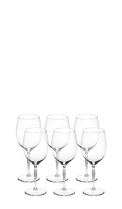 Bordeauxglas, 6er Set, 100 Points