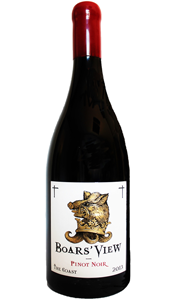 Pinot Noir, Sonoma County, Boars' View 2014