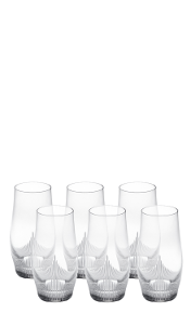 Longdrinkglas, 6er Set, 100 Points